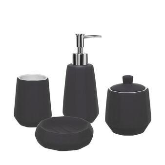 Prisma black ceramic bathroom line