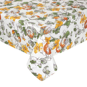 Pumpkin waterproof table cloth