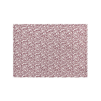 2-pack cotton table mats with leaves print