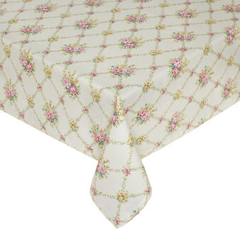 Ramage waterproof tablecloth in 100% cotton