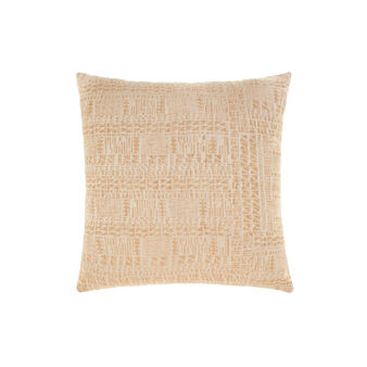 Cotton and viscose jacquard cushion