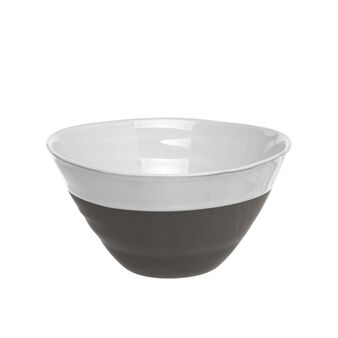 Small two-tone porcelain bowl