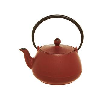 Matt cast iron teapot
