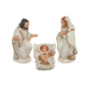 Holy family in ceramic