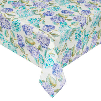 Pure linen Hydrangea tablecloth with soft hand