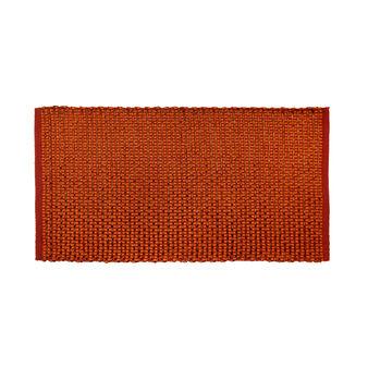 Woven design kitchen mat