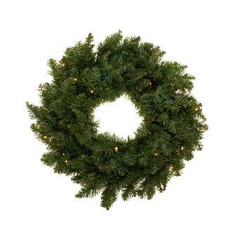 Alaska wreath with 30 LED lights D 60 cm