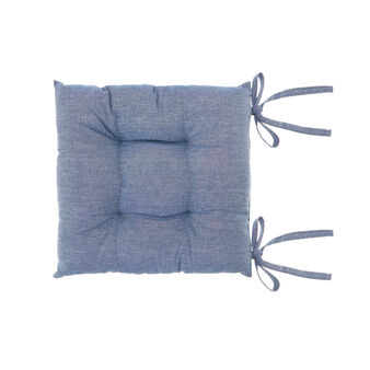Cuscino da sedia puro cotone mélange