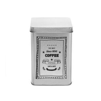 Barattolo di latta con stampa Coffee