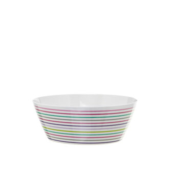 Striped dishes