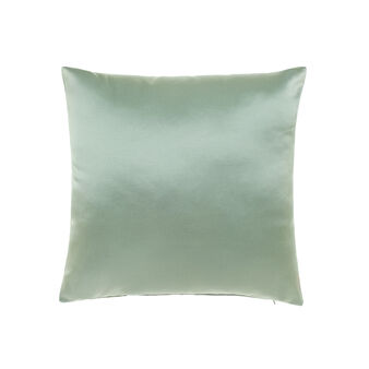 Cotton satin cushion