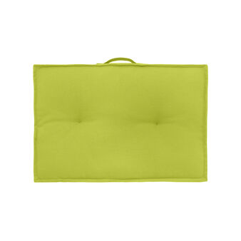 Rectangular mattress cushion in cotton with handle