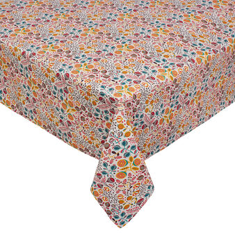100% cotton water-repellent table cloth.
