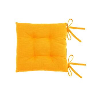 100% cotton seat pad with tie fastening