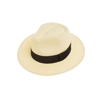 Cappello panama raffia naturale