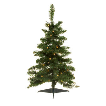 Christmas tree with LED lights H 60 cm