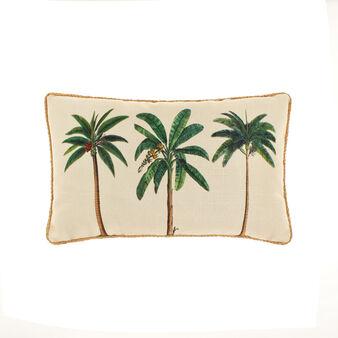 Cuscino rettangolare stampa palme