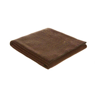 Plaid puro cotone tricot
