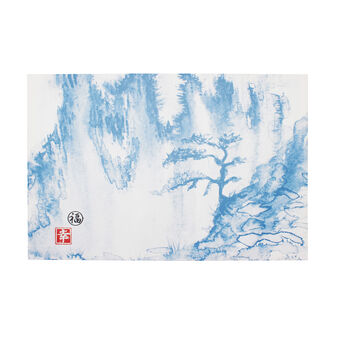 Japanese forest canvas print