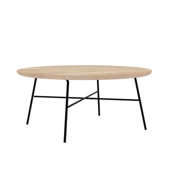 Cargo Disc Round Coffee Table