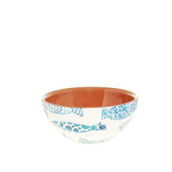 Small Portuguese ceramic bowl with fish