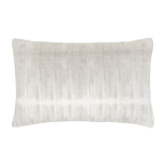 Printed linen blend pillowcase