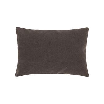 Cuscino in puro cotone tinta unita
