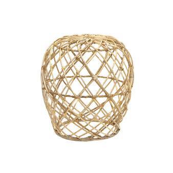 Sgabello rattan struttura a rete