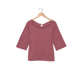 100% cotton jersey top