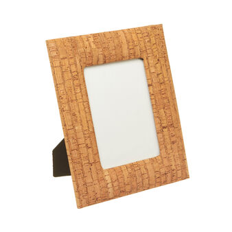Rectangular photo frame with cork surround