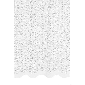 Tenda in cotone ricamata