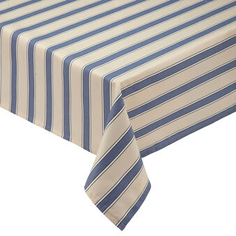 100% cotton striped patterned tablecloth