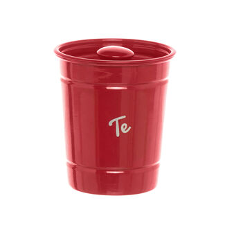 Red iron TE jar