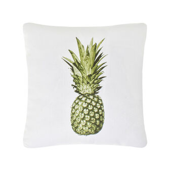 Digital pineapple print cushion