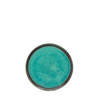 Light blue side plate
