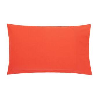 Route 66plain pillowcase in cotton percale.