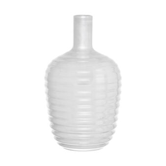Handmade bottle-shaped vase