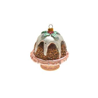 Decorazione natalizia dolce vetro  H 9cm