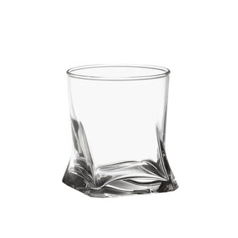 Water tumbler with square bottom