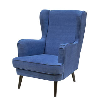 Denim armchair