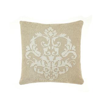 Raised waffle-weave cushion