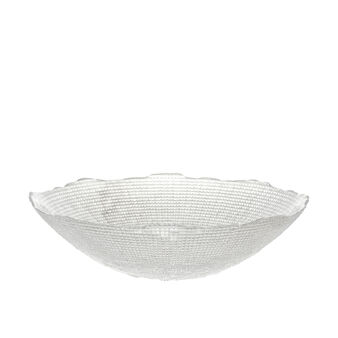 Salad bowl in sparkling glass