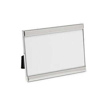 Silver-plated photo frame
