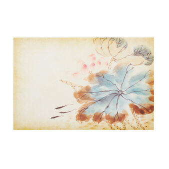 Japanese floral canvas print