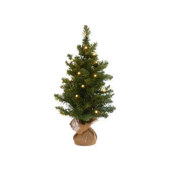 Small Christmas tree with LED lights H 80 cm