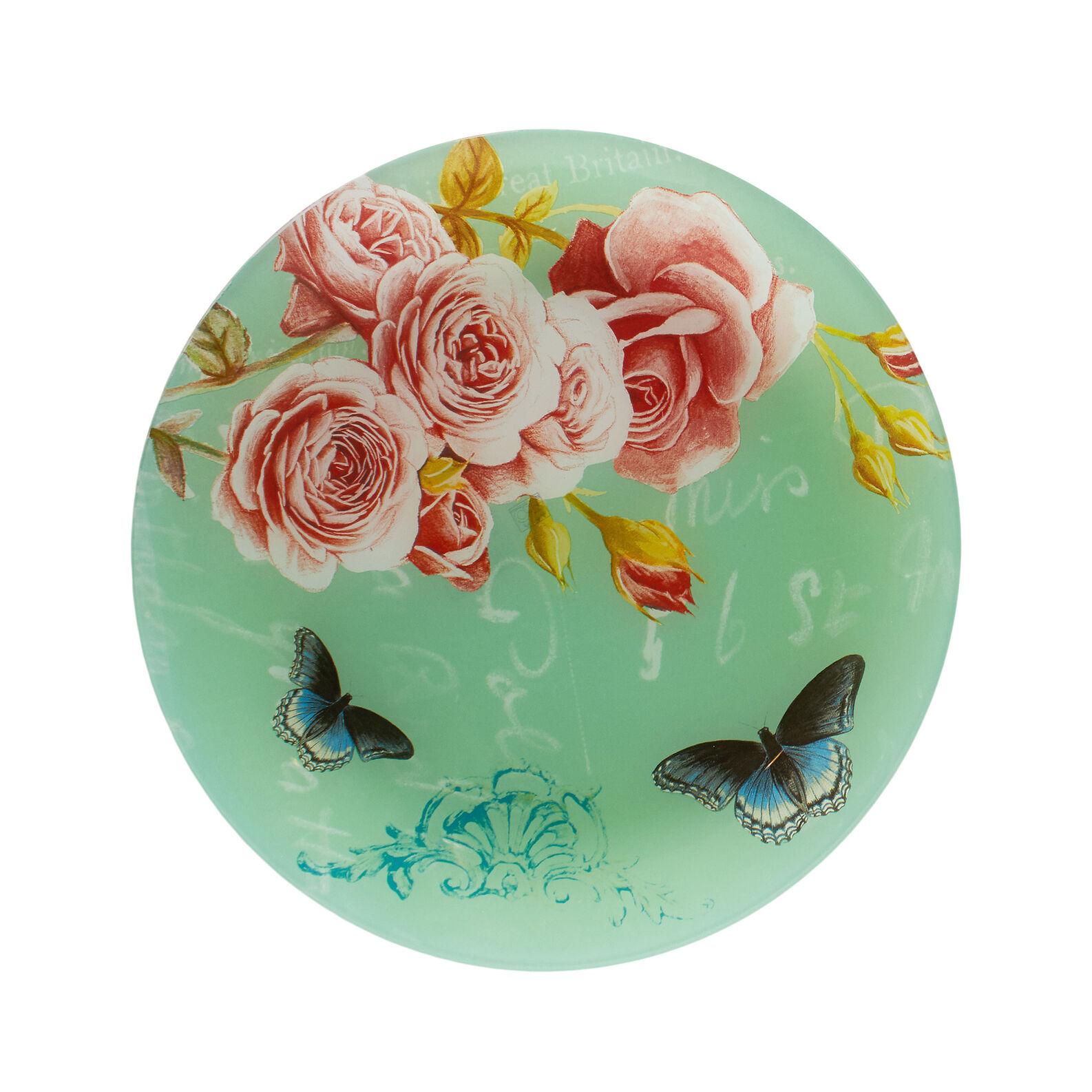 Piatto da portata vetro stampato decorato coincasa - Piatto da portata ...