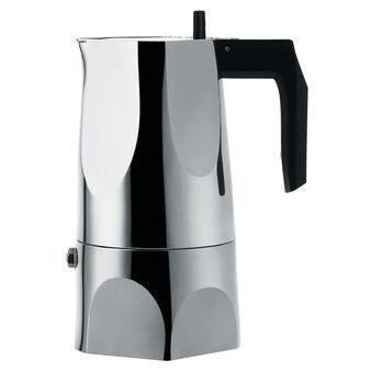 Alessi Ossidiana Moka 3-cup stove top espresso maker