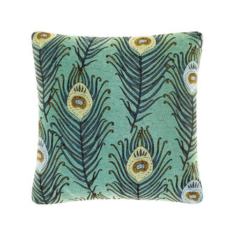 Jacquard viscose cushion
