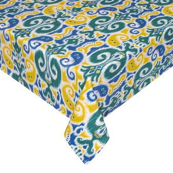 100% cotton tablecloth with Zanzibar print