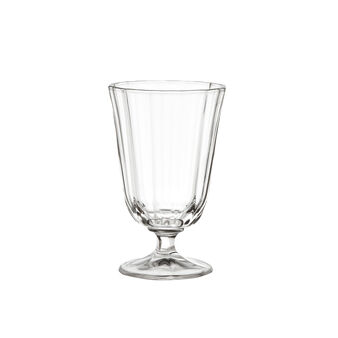 Glass wine goblet